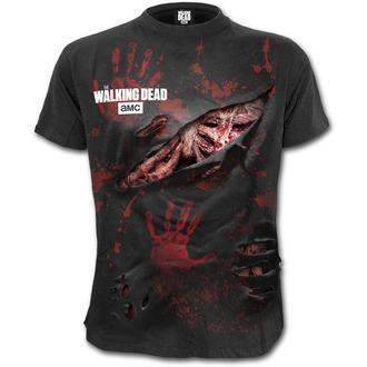 tricou cu tematică de film bărbați The Walking Dead - MICHONNE - SPIRAL, SPIRAL