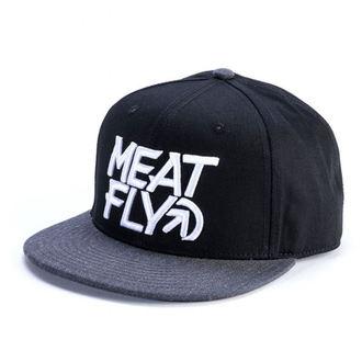 Șapcă MEATFLY - MOTION SNAPBACK D - BLACK / DARK HEATHER, MEATFLY