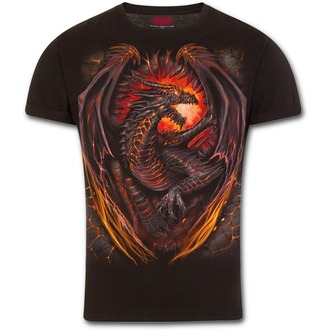 tricou bărbați - DRAGON FURNACE - SPIRAL, SPIRAL