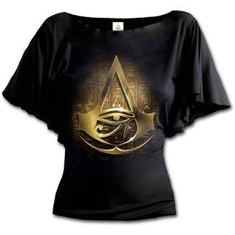 tricou cu tematică de film femei Assassin's Creed - ORIGINS LOGO - SPIRAL, SPIRAL