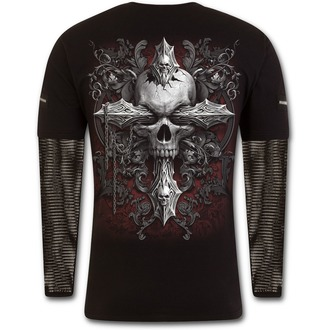 tricou bărbați - CROSS OF DARKNESS - SPIRAL - D077M321