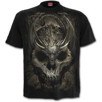 tricou bărbați - DRACO SKULL - SPIRAL, SPIRAL