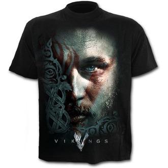 tricou cu tematică de film bărbați Vikingové - RAGNAR FACE - SPIRAL, SPIRAL