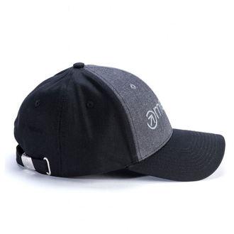 Șapcă MEATFLY - COACH CURVE PEAK C - DARK HEATHER / BLACK, MEATFLY