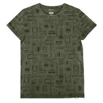tricou cu tematică de film bărbați Batman - OLIVE -
