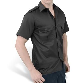 cămaşă SURPLUS - S.U.A. Hemd 1/2 - NEGRU, SURPLUS