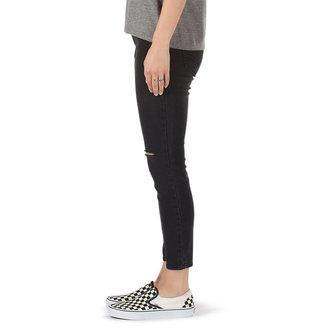 Pantaloni damă (blugi) VANS - DESTRUCTED SKINNY - Fum, VANS