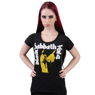 tricou stil metal femei Black Sabbath - BLACK - AMPLIFIED, AMPLIFIED, Black Sabbath