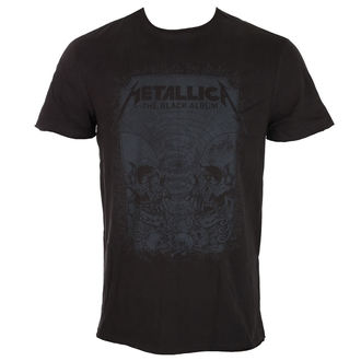 tricou stil metal bărbați Metallica - THE BLACK ALBUM - AMPLIFIED, AMPLIFIED, Metallica
