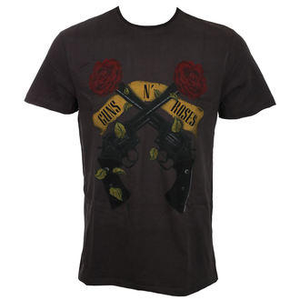tricou stil metal bărbați Guns N' Roses - SHOOTING ROSES - AMPLIFIED, AMPLIFIED, Guns N' Roses