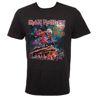 tricou stil metal bărbați Iron Maiden - RUN TO THE HILLS - AMPLIFIED, AMPLIFIED, Iron Maiden