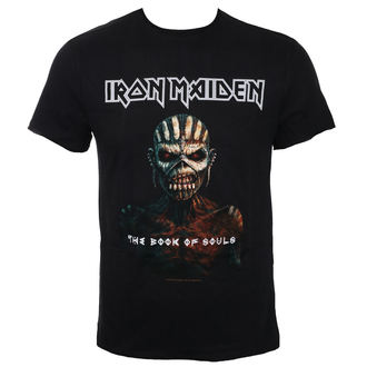tricou stil metal bărbați Iron Maiden - THE BOOK OF SOULS BK - AMPLIFIED, AMPLIFIED, Iron Maiden
