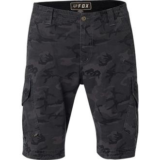 Pantaloni bărbătești scurți FOX - Slambozo Camo Cargo - Black Camo, FOX