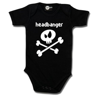 Body bebeluș Headbanger - Metal-Kids, Metal-Kids