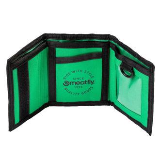 Portofel MEATFLY - HARPOON - A - 1/26/55 - Black Green, MEATFLY