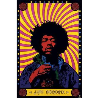 poster Jimi Hendrix (psihedelice) - PP30356, PYRAMID POSTERS, Jimi Hendrix