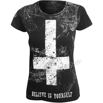 tricou hardcore femei - BELIEVE IN YOURSELF - AMENOMEN, AMENOMEN