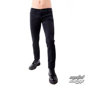 pantaloni bărbați Negru Pistol - Închide Pantaloni dril Negru, BLACK PISTOL