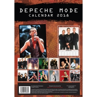 Calendar anul 2018 DEPECHE MODE, Depeche Mode
