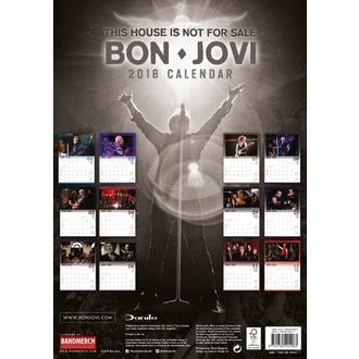 Calendar de perete 2018 BON JOVI, Bon Jovi