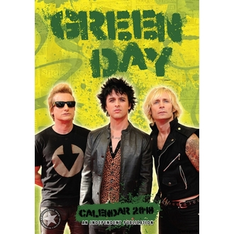 Calendar anul 2018 GREEN DAY