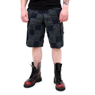 pantaloni scurți bărbați SURPLUS - Checkboard - ALBASTRU, SURPLUS