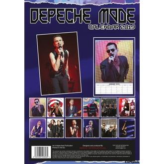 Calendar pentru anul 2019 - Depeche Mode, NNM, Depeche Mode
