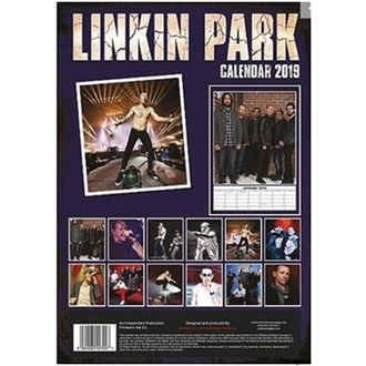 Calendar pentru anul 2019 - Linkin Park, NNM, Linkin Park