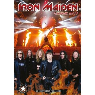 Calendar pentru anul 2019 - Iron Maiden, NNM, Iron Maiden