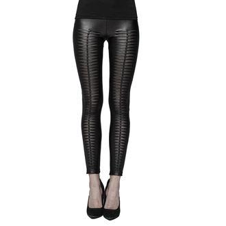 Femei pantaloni (colanți) PUNK RAVE - Slasher - WK-342 BK