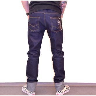 Pantaloni bărbătești BLACK HEART - HOT ROD JEANS, BLACK HEART