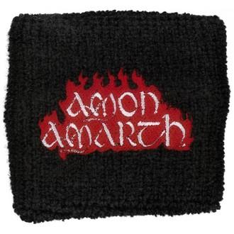 wristband Amon Amarth - roșu Flacără, RAZAMATAZ, Amon Amarth