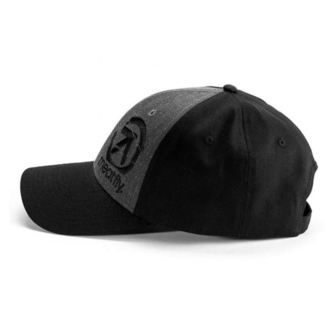 Șapcă MEATFLY - SIGMA CURVE PEAK A - BLACK / DARK HEATHER, MEATFLY