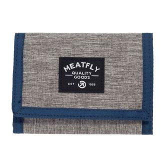 Portofel MEATFLY - LANCE - E - 1/26/55 - Heather Grey Blue Black, MEATFLY