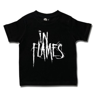 tricou stil metal bărbați In Flames - Logo - Metal-Kids, Metal-Kids, In Flames