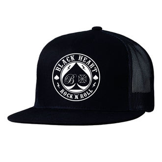 Șapcă BLACK HEART - ACE OF SPADES - BLACK, BLACK HEART