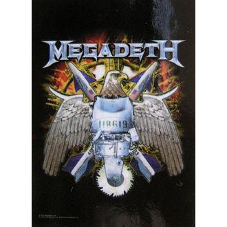steag Megadeth - Vultur, HEART ROCK, Megadeth