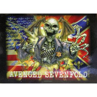steag Avenged Sevenfold - confederativ, HEART ROCK, Avenged Sevenfold