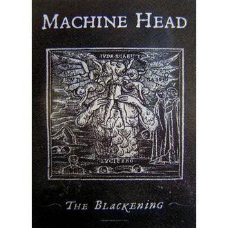 steag Maşină Cap 'The înnegrire', HEART ROCK, Machine Head