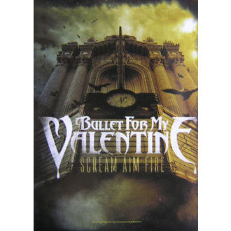 steag Bullet For my Valentine - Ţipăt Scop Foc, HEART ROCK, Bullet For my Valentine