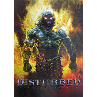 Steag Disturbed 'Indestructible' HFL 1022, HEART ROCK, Disturbed