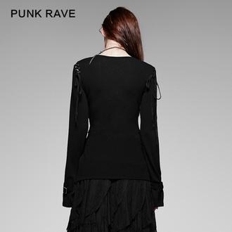 Tricou cu mâneci lungi, pentru damă PUNK RAVE - Perfect Disorder, PUNK RAVE