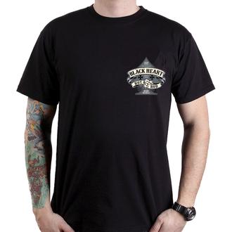 tricou de stradă bărbați - HOT ROD BELL - BLACK HEART, BLACK HEART