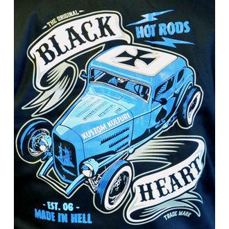 hanorac cu glugă bărbați - BRUISER - BLACK HEART, BLACK HEART