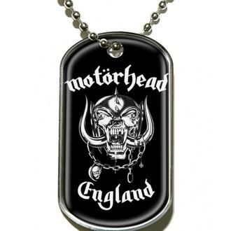Guler ' etichetă pentru câine' Motörhead 'England', RAZAMATAZ, Motörhead