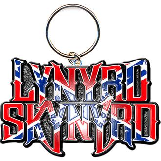 Breloc chei - pandantiv Lynyrd Skynyrd (Flag Logo) - ROCK OFF, ROCK OFF, Lynyrd Skynyrd