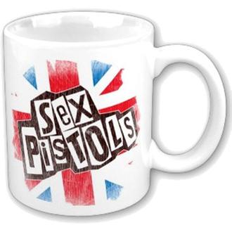 Ceașcă Sex Pistols - Logo Flag Fridge Boxed Mug - ROCK OFF, ROCK OFF, Sex Pistols