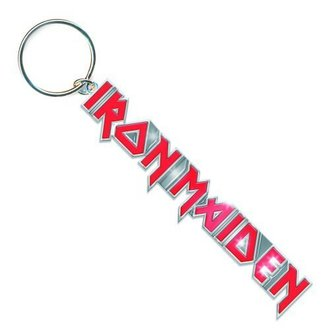 Breloc chei (pandantiv) Iron Maiden - Logo with Tails Key Chain - ROCK OFF, ROCK OFF, Iron Maiden