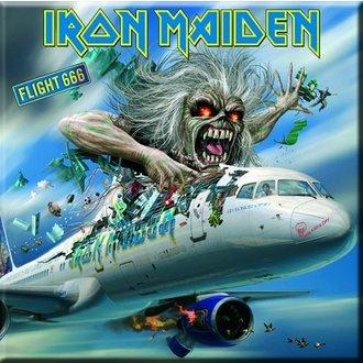 magnet Iron Maiden - Zbor 666 Frigider Magnet - ROCK OFF, ROCK OFF, Iron Maiden