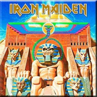 magnet Iron Maiden - Putere Sclav Frigider Magnet - ROCK OFF, ROCK OFF, Iron Maiden